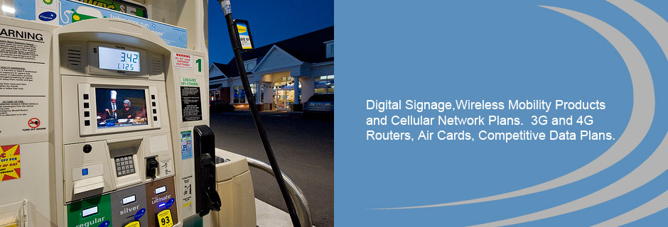 Digital Signage and Wireless Mobility Products